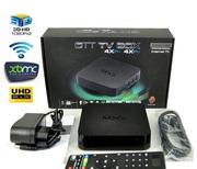 Четырехъядерная интернет ТВ приставка MXQ OTT TV Box. Android 4.4.